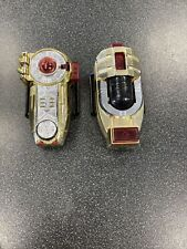 Power Rangers ZEO Gold Zeonizer Ranger Morpher band Lights Sound 1996 FREE SHIP