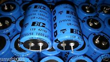 8pcs New Bc 159 1000uF 200V Long Life Hi Ripple Low Esr Tube Amp Caps For Audio!