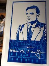 Alan M. Turing by Julia M. Turing portrait, Art, Collectables, Posters