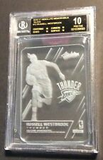 2016-17 Panini Absolute Glass #12 Russell Westbrook BGS 10 Black Label !!!