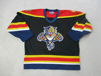 VINTAGE Starter Florida Panthers Hockey Jersey Adult Extra Large Black SEWN 90s