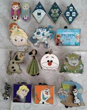 Frozen Anna Elsa Baby Blanket Olaf Troll Princess Rack Set Choose a Disney Pin