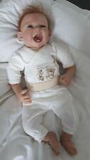 süßes Reborn Baby kleiner Junge 55 cm Realife Puppe Lebensecht Künstlerpuppe