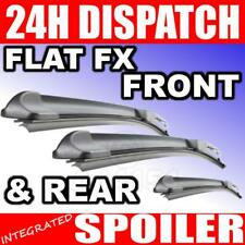Front & Rear Aero FX Wipers For Hyundai Excel Hatch 95-07