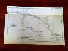 1949 Map Plan of Improvement Pt Judith adn Jerusalem South Shore Rhode Island