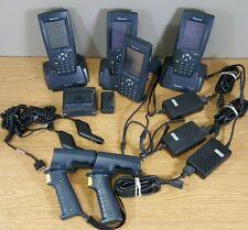 Lot of 4 Intermec 700C Series Mobile Handheld Computer W/ Accessories