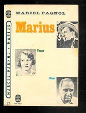 "Marcel Pagnol : Marius "" Pièce en quatre actes - N° 22 "" Le Livre de Poche"