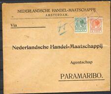 VIOLET SCHEEPSST. VIERKANT K.N.S.M. MS. COMMEWIJNE 30 MEI 1930- PARAMARIBO Za130