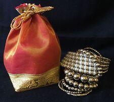 10* Organza Potli Wedding Accompaniments Favour Bags -Indian Wedding Accessory