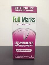 FULL MARKS SOLUTION 4 TREATMENTS FOR HEAD LICE - 200ML