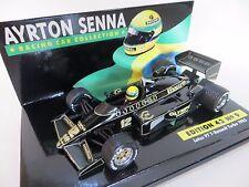 "MINICHAMPS ""Ayrton Senna collection"" Lotus 97 T RENAULT. EDITION 43, Nº 9. 1985"