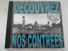 D.N.C. - Decouvrez Nos Contrees - CD mit Press Sheet