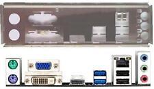 ATX Blende I/O shield Asus H61M-A USB3 #556 io NEU OVP backplate bracket new H61
