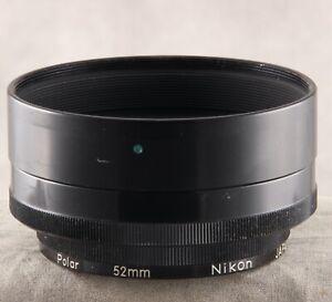 Nikon HN-12 Lens Hood with 52mm Polar Filter