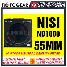NISI Pro ND1000 Ultra Thin 10 Stops Neutral Density Filter ND400 55mm Hoya