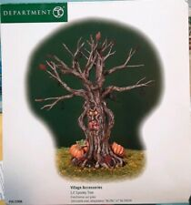 Department 56 Lit Spooky Tree Halloween Village Accessories Lighted 52896 New