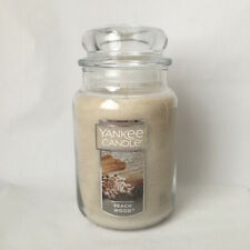 Yankee Candle ~ BEACH WOOD ~ 22oz Large Jar *Free Expedited Shipping*