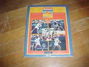 1994 Newsweek Champions Cup Tennis Program Pete Sampras Steffi Graf Champs