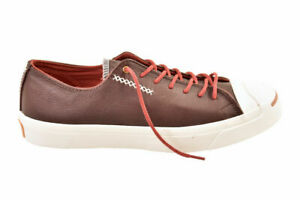 Converse Unisex Jack Purcell Trainers Red Rot Bordo Size UK 11