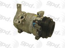 Global Parts Distributors 6511414 New Compressor And Clutch