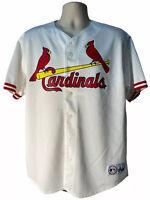 Majestic Jersey St. Louis Cardinals Mark McGwire #25 Mens Size XL White