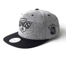 Mitchell & Ness Snapback Basecap LA Kings NHL Eishockey  graumelange schwarz