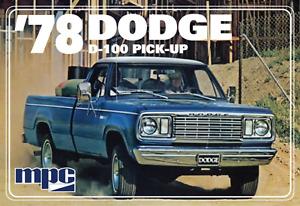 MPC 1:25 1978 Dodge D100 Custom Pickup (2T), #R2MPC901