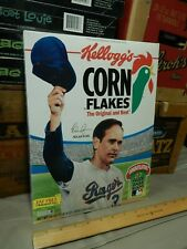 '90s MLB Promo NOLAN RYAN Career Tribute (Kellogg's) Corn Flakes NOS Cereal Box