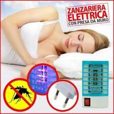 AMMAZZA ZANZARE ZANZARIERA ELETTRICA A LED ANTISETTICO ALIMENTAZIONE 220V 1W