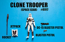 Star Wars Clone Wars Clone Trooper In Space Gear Action Figure! Army Builder!