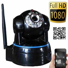 Wansview Wireless IP Camera Pan Tilt 1080P HD P2P Audio WiFi Record Montion IR