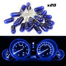 20) Blue MINI BULBS LAMPS FOR GM SPEEOMETER CLUSTER BACKLIGHT LIGHT 12v-14v 95ma