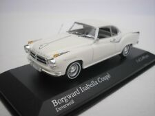 BORGWARD ISABELLA COUPE 1959 DOVERWEISS 1/43 MINICHAMPS 400096020