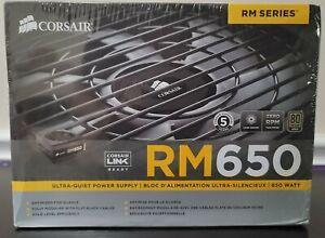 Corsair RM Series RM650 650W 80 Plus Gold Modular Power Supply NEW