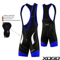 Pro Mens Cycling Bib Short Bib Tights Shorts Coolmax® Padding Cycle Bike Black