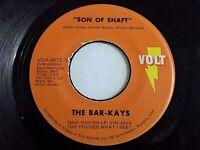 Bar-Kays Son Of Shaft / Sang And Dance 45 1971 Volt Isaac Hayes Vinyl Record