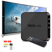 MXQ-4K RK3229 Quad Core Android 1GB 8GB 1080P WiFi Smart TV Box HDMI 4K HD