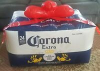 Inflatable Corona Beer Case Footstool-Christmas in the Man Cave-He Will Love It!