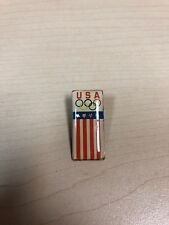 OLYMPIC GAMES TEAM USA VTG LAPEL HAT TIE PIN
