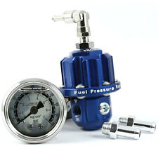 ADD W1 Fuel Pressure Regulator FPR Intercooler liquid fill gauge - BLUE COLOR