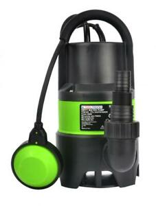 Electric Submersible Clean or Dirty Water Pump for Flood Pool Garden Well Pond