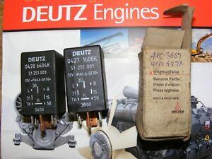 Genuine Deutz relay 04286604 042716884103669 4111937 Glow heater unit