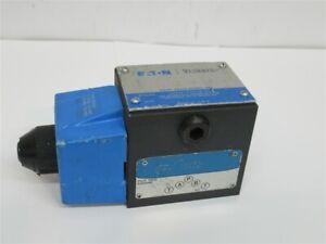 Eaton DG4S4-012A-B-60, Pilot Valve Directional Control Valve Solenoid Actuation