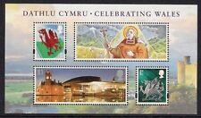 MSW147 2009 Celebrating Wales miniature sheet UNMOUNTED MINT/MNH