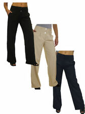 Unbranded Mid Rise Tailored Trousers for Women