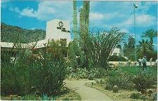 Camelback Inn near Phoenix, Arizona Main Building and Putting Green in 1960's