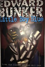 LITTLE BOY BLUE BY EDWARD BUNKER  *SIGNED*FIRST EDITION*