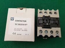 TC  TC1D2510P7 Contactor 415 Volt Coil 25 Amp