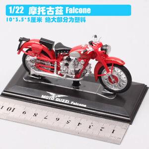 1/22 GUZZI falcone red dirt bike Motocross Diecast model Motorcycle toy