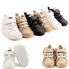 Toddler Infant baby Boy Girl Warm Martin Boots Soft Sole Prewalker Crib Shoes